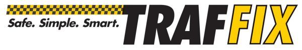 Ride Traffix logo. safe, simple, smart